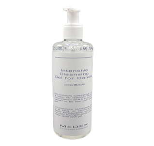 Medex Bio Science Cosmetics - Intensive Cleansing Gel for Hands 70% alcohol 250 ml.