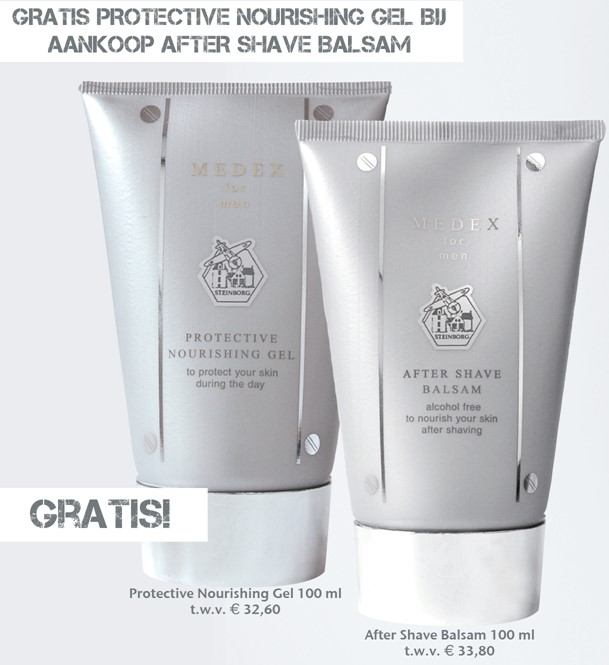 Medex Bio Science Cosmetics - Vaderdag After Shave Balsam +  Prot. Nourishing Gel GRATIS